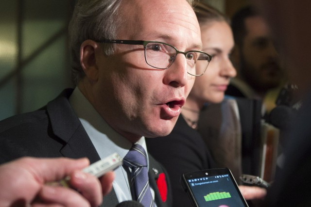 «Il y a une inspection générale qui va... (Archives, La Presse canadienne)