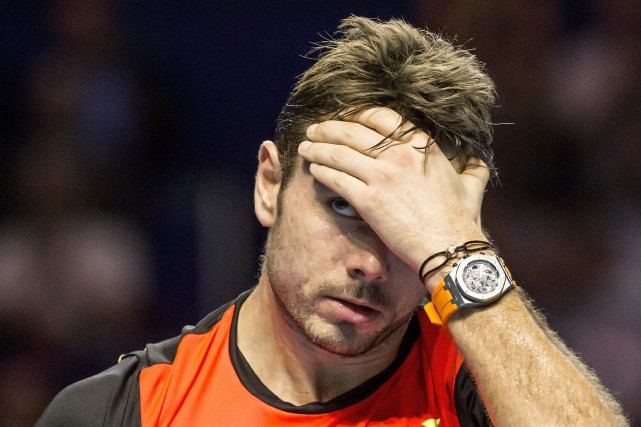 Stan Wawrinka... (PHOTO Alexandra Wey, AP)
