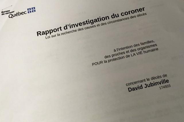 Le coroner Me Richard Drapeau a publié son... (La Tribune, René-Charles Quirion)