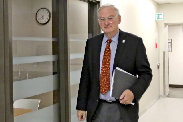 Le recteur de l'Université d'Ottawa, Jacques Frémont, avait... (Patrick Woodbury, LeDroit)