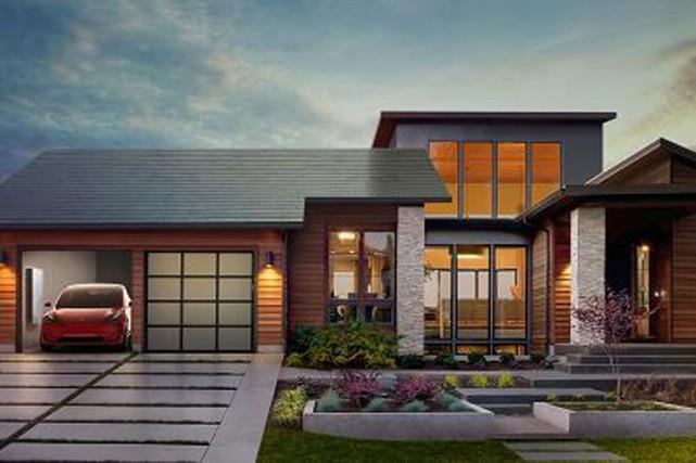 Ces tuiles solaires «ont l'air différent, parce qu'elles... (Fournie par Tesla)