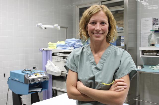 La chirurgienne de Sept-Îles Marion L'Espérance a lancé... (Collaboration spéciale Fanny Lévesque)