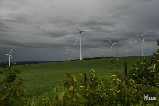 Le secteur éolien procure 4500 emplois au Québec,... (Archives La Presse)