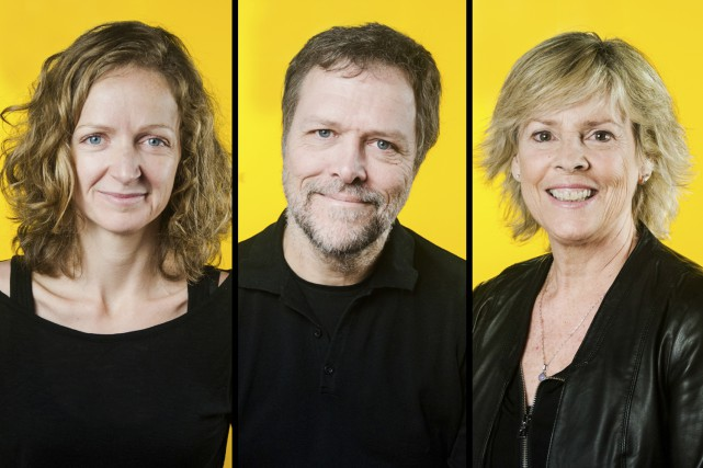 Les trois finalistes du Prix du CALQ en... (Photos fournies)