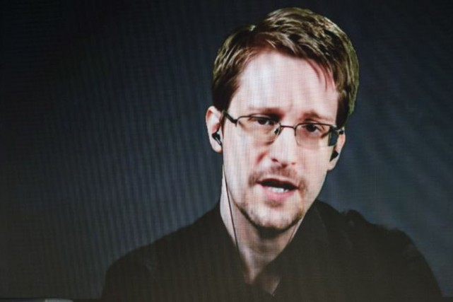 Edward Snowden a dit que l'affaire Lagacé représente «une menace... (PHOTO ARCHIVES AP)