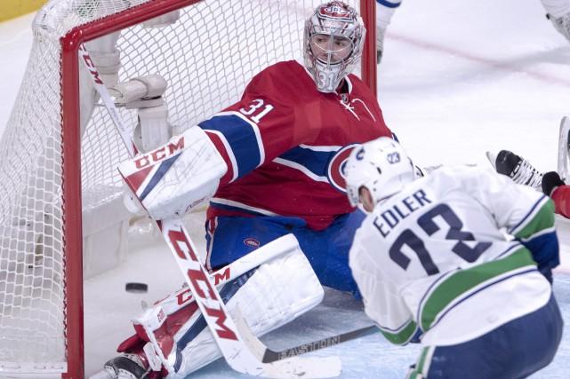 Carey Price a repoussé les 42 tirs des... (La Presse canadienne, Ryan Remiorz)