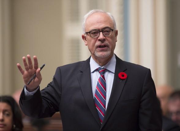 Selon le ministre des Finances du Québec, Carlos... (La Presse canadienne, Jacques Boissinot)