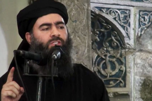 Abou Bakr al-Baghdadi... (Photo archives Associated Press)
