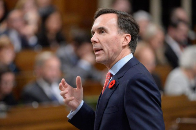 Le ministre des Finances Bill Morneau... (Photo Adrian Wyld, archives La Presse canadienne)