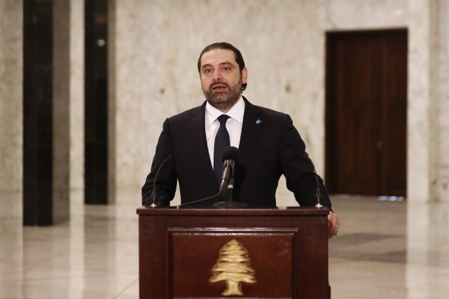 Âgé de 46 ans, Saad Hariri revient au... (AP)