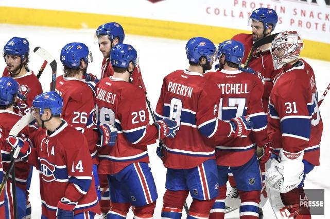 Le Canadien a signé une huitième victoire consécutive,... (Photo Bernard Brault, La Presse)