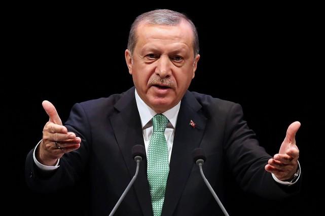 Recep Tayyip Erdogan... (Photo Adem Altan, Agence France-Presse)