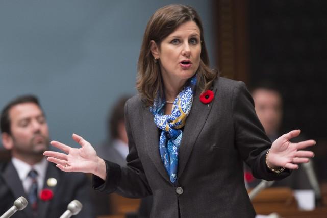 La ministre de la JusticeStéphanie Vallée... (La Presse Canadienne, Jacques Boissinot)