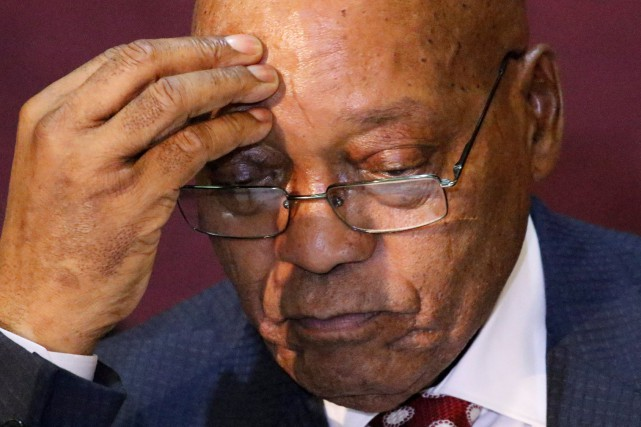 Jacob Zuma... (PHOTO PHILIMON BULAWAYO, REUTERS)