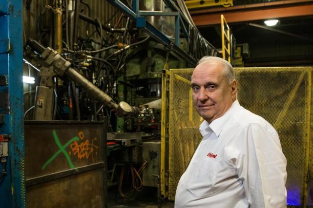 À 76 ans,Claude Lesage célèbre cette année ses... (Photo Hugo-Sébastien Aubert, La Presse)