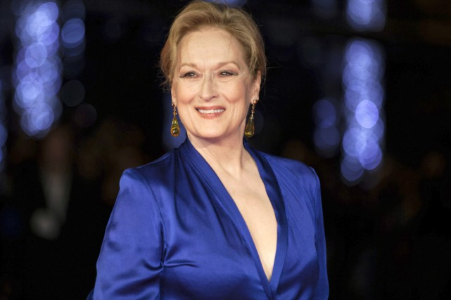 Meryl Streep ajoutera un nouveau Golden Globe à sa collection: elle recevra... (PHOTO ARCHIVES AP)