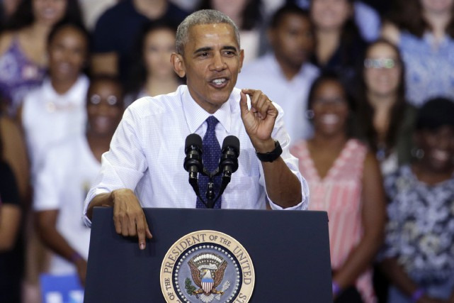 Le président américain Barack Obama... (Photo Lynne Sladky, AP)