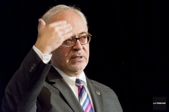 Le ministre des Finances Carlos Leitao... (Photo Archives La Tribune)
