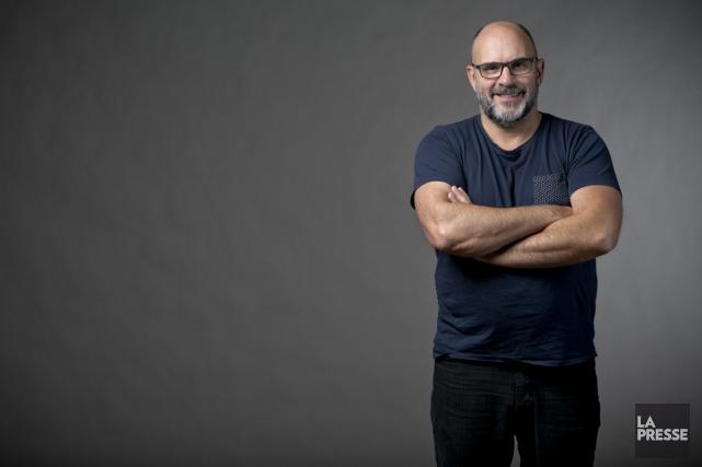 Le comédien Sylvain Marcel a mis les bouchées doubles au début de sa carrière.... (PHOTO DAVID BOILY, LA PRESSE)