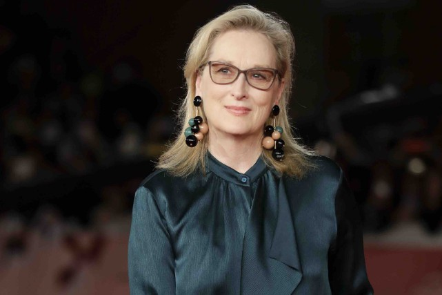 Meryl Streep recevrale prix Cecil B. DeMille poursa... (AP, Andrew Medichini)