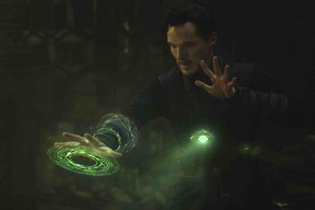 Avec Benedict Cumberbatch qui tient le rôle-titre, Docteur... (Fournie par Disney/Marvel)