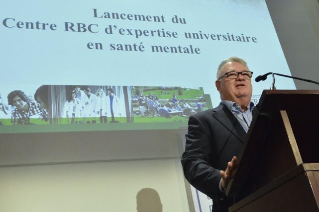 Normand Legault, président de la campagne majeure d'Avenirs... (Spectre Média, Maxime Picard)
