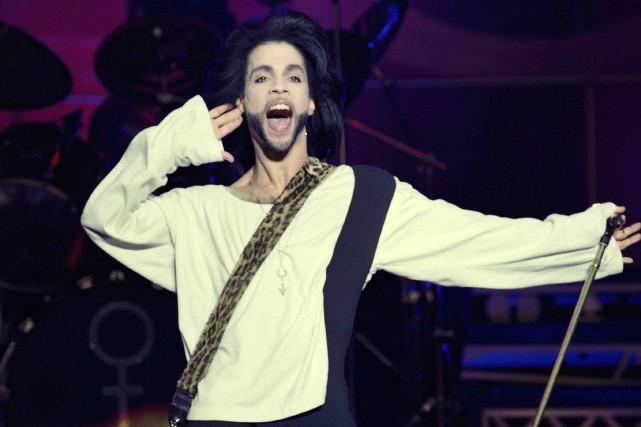 De son vivant, Prince défendait vigoureusement les droits... (Archives AFP)