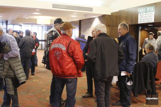 Près de 500 retraités membres du Régime agréé... (Photo Le Quotidien, Yohann Gasse)