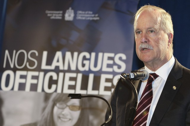 Le commissaire aux langues officielles, Graham Fraser, indiquait... (Patrick Woodbury, Archives LeDroit)