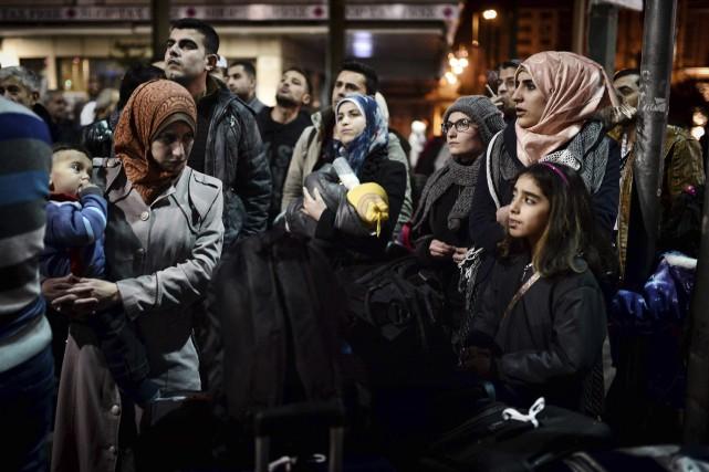 Depuis un an, le Canada a accueilli 33... (AFP)