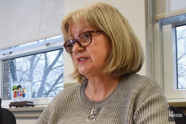 Hélène Corneau, directrice générale de la Commission scolaire... (François Gervais)