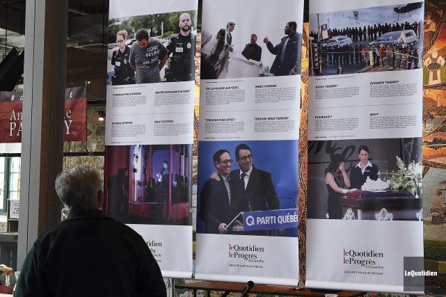 Les clichés des photographes des six journaux de... (Photo Le Quotidien, Rocket Lavoie)