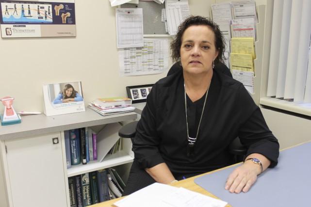 La chef adjointe du département d'obstétrique gynécologique, la... (Collaboration spéciale Fanny Lévesque)