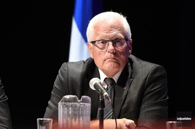 Le député Serge Simard... (Archvies Le Quotidien, Mariane L. St-Gelais)