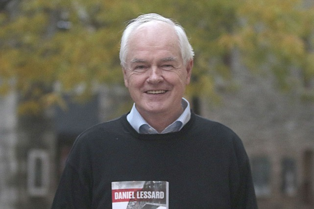 Daniel Lessard a publié un premier thriller politique,... (Etienne Ranger, LeDroit)