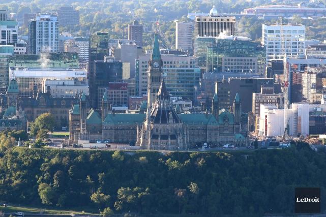 Il est prouvé que la Ville d'Ottawa tirerait... (Patrick Woodbury, Archives LeDroit)