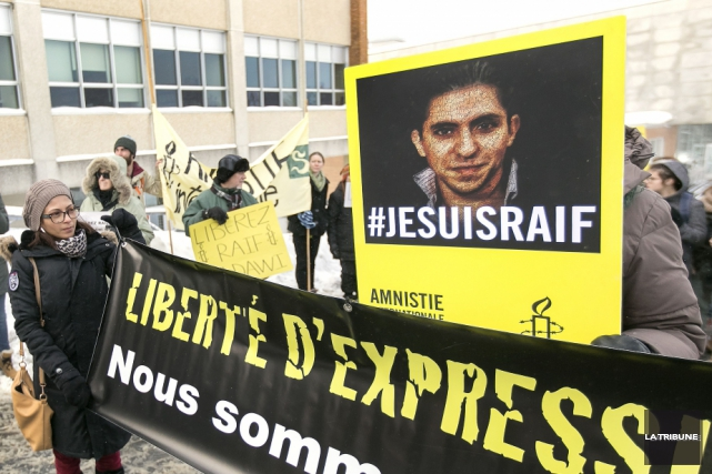 Raïf Badawi a été condamné en novembre 2014... (Archives La Tribune)