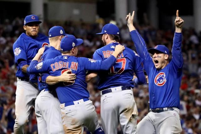 Les Cubs de Chicago ont remporté mercredi la... (photoEzra Shaw, agence france-presse)