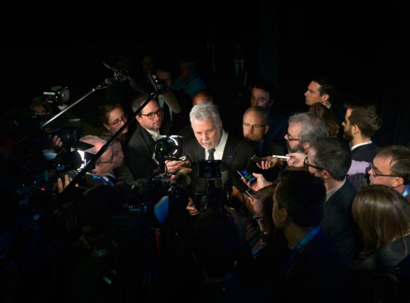 En réaction aux révélations selon lesquelles des journalistes... (PHOTO YAN DOUBLET, ARCHIVES LE SOLEIL)