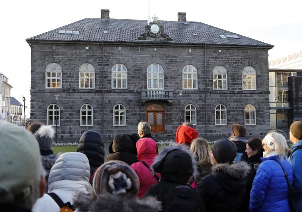 Situé à Reykjavik, l'Althing est le parlement de... (AP, Frank Augstein)