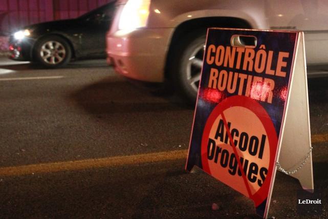 Trois conducteurs devront répondre de leurs actes après s'être fait intercepter... (Archives Le Droit)
