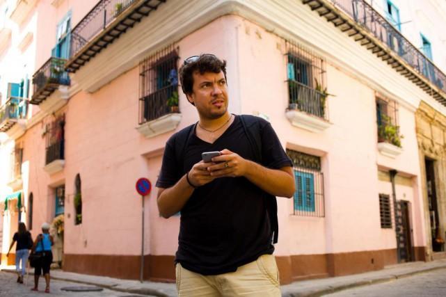 Yondainer Gutierrez, 29 ans, créateur de l'application A... (PHOTO Martin Chamberland, LA PRESSE)
