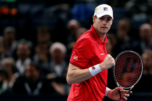 John Isner... (Photo Gonzalo Fuentes, archives REUTERS)