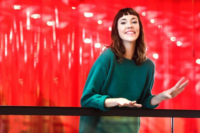 L'animatrice Catherine Pogonat a repris cet automne la... (Photo Bernard Brault, La Presse)