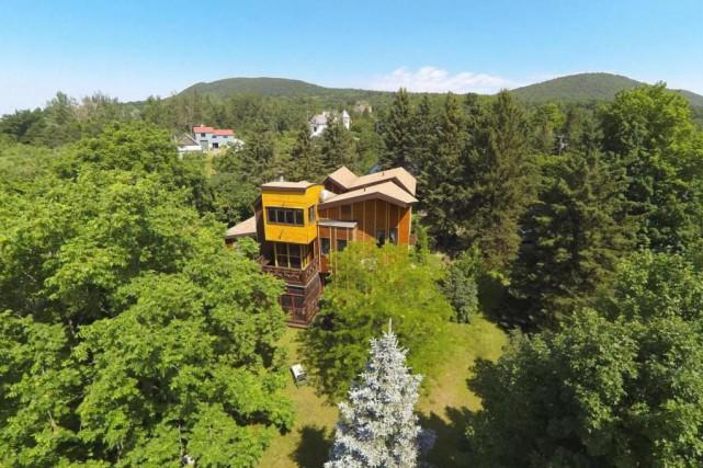 L'architecte montréalais Louis-Paul Lemieux a dessiné une maison... (Photo fournie par le courtier)