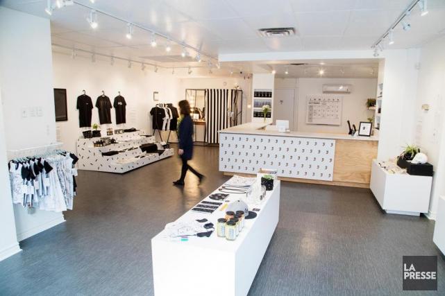 À la fois galerie, boutique et espace événementiel,... (PHOTO ALAIN ROBERGE, LA PRESSE)
