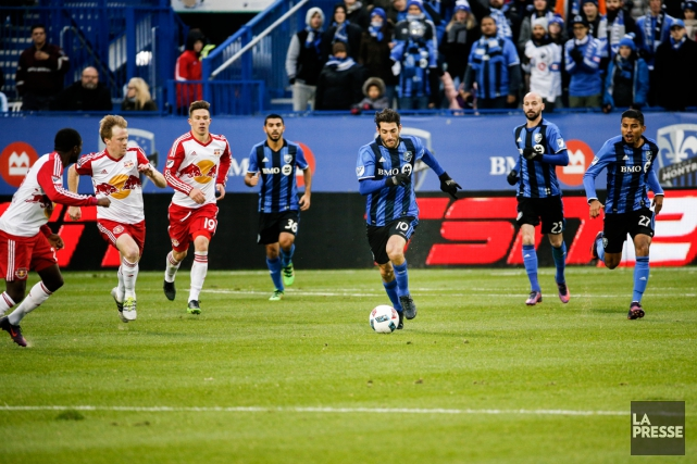 L'Impact affrontera les Red Bulls de New York... (Photo Olivier Pontbriand, La Presse)