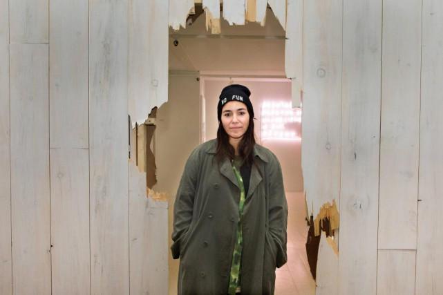 L'artiste portugaise Wasted Rita expose à la galerie... (Photo Robert Skinner, La Presse)