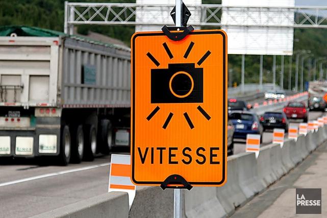 La Ville de Montréal déploiera lundi trois nouveaux radars photo mobiles,... (PHOTO ARCHIVES LA PRESSE)