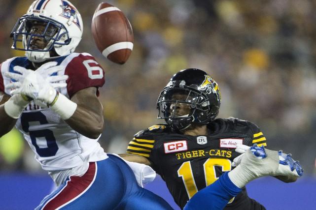 Les Alouettes de Montréal espèrent terminer la saison sur une bonne note en... (Photo archives La Presse Canadienne)
